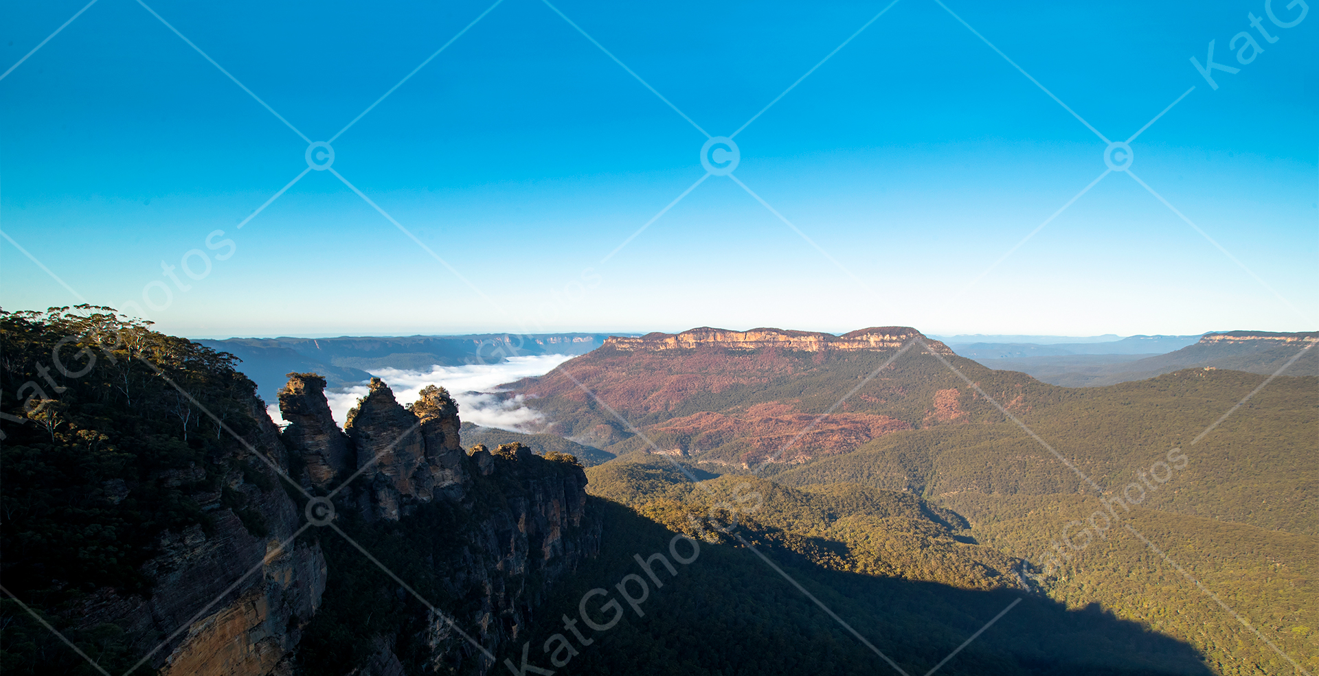 Landscape photography, Australia, National Geographic, blue mountains, pics, Jamison Valley